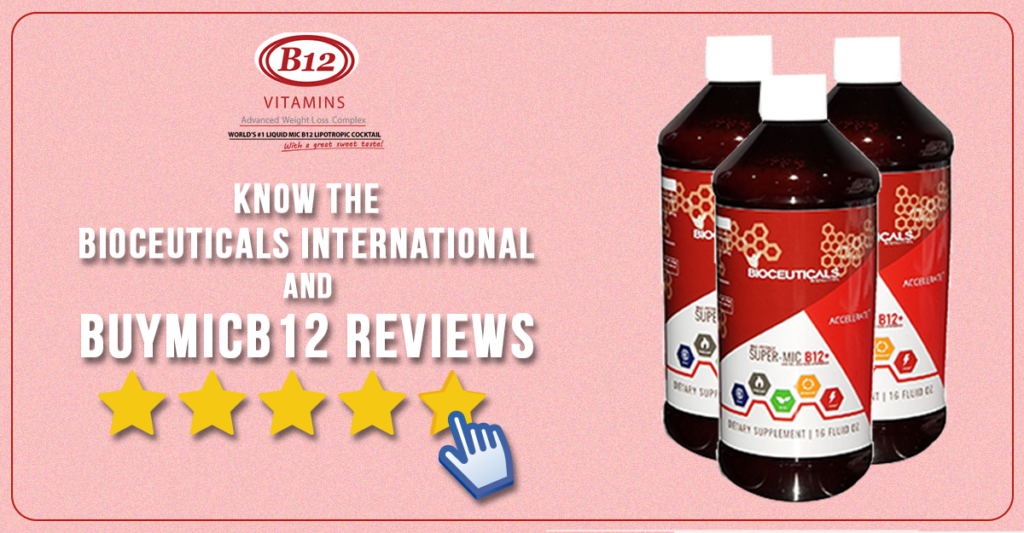 Know About B12 Lipotropic Shots and BuyMICB12 Reviews