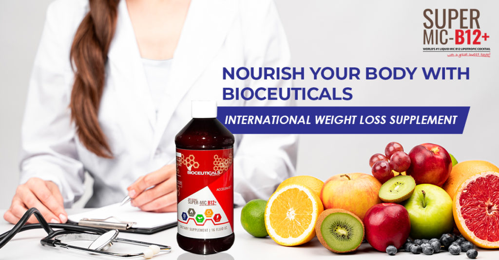 Nourish You Body - The Power of Super MIC B12 Weight Loss Supplement