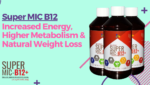 Super MIC B12 - Increased Energy, Higher Metabolism & Natural Weight Loss