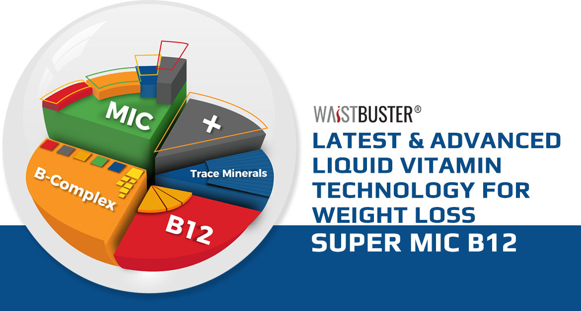 Latest & Advanced Liquid Vitamin Technology for Weight Loss - Super MIC B12