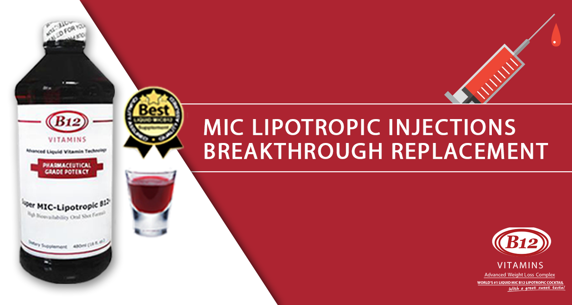 MIC Lipotropic Injections Breakthrough Replacement
