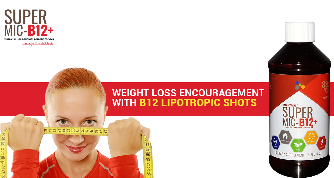 Weight Loss Encouragement with B12 Lipotropic Shots & Super MIC B12 Reviews