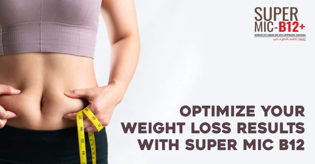 Optimize your Weight loss Results with Super MIC B12